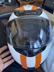 Scorpion EXO-R420 Full Face Motorcycle Street Helmet White - Size L