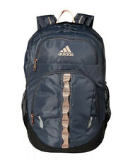 Adidas Prime V Backpack XL Student Onix/Rose , Gold/Haze, Coral Authentic NWT