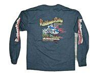 Motorcycle Rally USA Ruidoso Rally 2010 long sleeve t shirt Size Medium