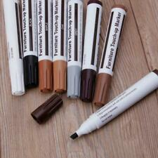 17Pcs Furniture Touch Up Kit Markers & Filler Sticks Wood Scratches Restore r
