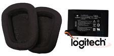 Batteria & GOMMINO AURICOLARE ORIGINALE Logitech Gaming Headset G933