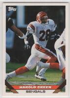 1993 Topps Football Cincinnati Bengals Team Set