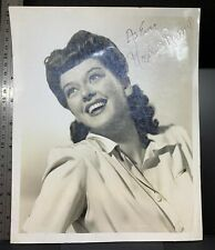 Rosalind Russell signed photo, 1943, American actress, vintage, classic, pinup