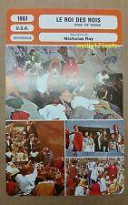 États-Unis Épique biblique Film King of Rois-Mages JEFFREY HUNTER français Film