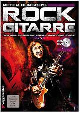 Peter Bursch's Rock Gitarre (+CD und DVD) - Gitarre lernen ohne Noten + Plec