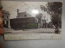 Vintage 1906 Ramsdell Theatre Manistee Michigan Postcard