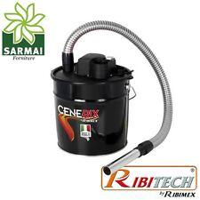 Cenerix Bidone aspiracenere 1200W per camino stufa aspirapolvere aspira cenere