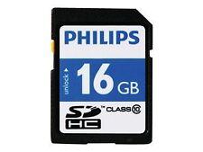 Philips SDHC Karte 16 GB Class 10 Fm16sd45b