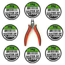 Wire Cutters w/ Mixed 550 Feet of Nichrome 80 Wire 22,24,26,28,30,32,34,36 Gauge