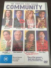 """Community : Season 1"" (DVD, 2010, 4-Disc Set, PAL Reg.4) 25 Episodes, Comedy"