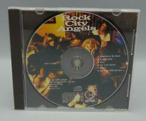 Rock City Angels 6 Cut Promo CD (CD, 1988) Geffen Records PRO CD-3247