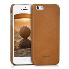 Leder Hülle für Apple iPhone SE 5 5S Handy Case Cover Tasche Smartphone