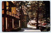 Lake Arrowhead Street View California CA Vintage Postcard D76