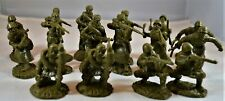"""TSSD05A """"WWII Russian Infantry in Winter Uniforms"""" 54mm Plastic Toy Soldiers"""