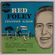 RED FOLEY: Souvenir Album DECCA 4x 45 Super Clean 50s ORIG Country NM