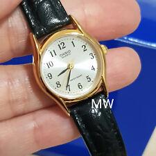4281cfebda84 Genuino Reloj Casio Analógico de Cuarzo señoras de cuero clásico LTP1094Q  LTP-1094Q-7B2