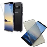 Custodia Crystal Full Body 360° Samsung Galaxy Note8 Note 8 N950F cover case TPU