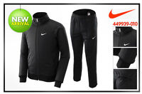 Nike Homme Mens Warm Up Suit Jogginganzug Tanz Sport Trainings Anzug schwarz XXL