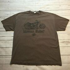 Harley Davidson Shirt Motorcycle From Seattle WA Green Mens Size XLarge #10