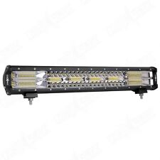 Nox Lux 20 Inch LED Triple Row Off Road Light Bar Combination 126W 12600 Lumens