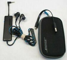Bose QC20i Noise Cancelling In-ear Headphones (Black) - w/ Case IOS Apple