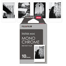 Fujifilm Fuji 10 Monochrome Mono Film For Instax Mini 7s 8 9 70 90 Camera SP-2