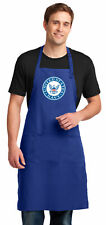 Large United States Navy Apron Lg Us Navy for Men Mens Grilling Chef
