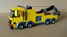 LEGO CITY CUSTOM HEAVY HAULER TOW TRUCK   YELLOW  L@@K
