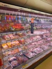 More details for dairy chiller cabinet pvc curtains blinds 2.5m width 1.7m drop 100mm wide strip