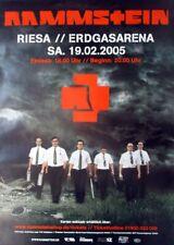 RAMMSTEIN - 2005 - Konzertplakat - Reise Reise - Tourposter - Riesa