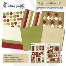 CHRISTMAS Gingerbread House Collection Kit 12X12 Scrapbooking Kit FANCY PANTS