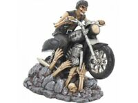 RIDE OUT OF HELL 16cm Nemesis Now James Ryman Skeleton Ornament Gothic FREE P+P
