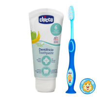Chicco Toothbrush and Chicco Dentifricio Toothpaste