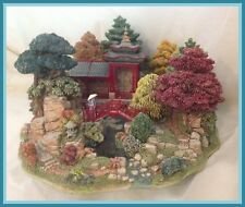 Lilliput Lane Reflections of Jade Special Edition 43 of 3,950 Retired 1996