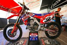 HONDA KIT GRAFICA CR 125/250 2002 - 2007 TLD LUCAS OIL ORIGINALE Ama Motocross