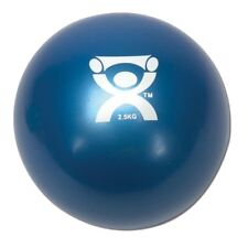 """Cando 10-3164 Blue Plyometric Weighted Ball, 5"""" Dia, 5.5 lbs Weight Capacity"""