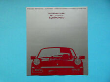 Prospekt / Katalog / Brochure Porsche 911 (964) Carrera 2 Tiptronic  01/90