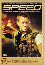 SPEED Keanu Reeves / Sandra Bullock DVD R4  PAL - Special Edition