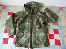 US Army Cold Wet Weather Gen 1 ECWCS Waterproof Woodland Goretex Parka