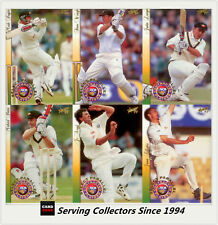 1997/98  Select Cricket Trading Cards CA Contract Players Parallel Set (22)