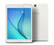 Blanc: Tablette Samsung galaxy tab A 9.7 pouces SM-t550 16GO IPS 4Cores