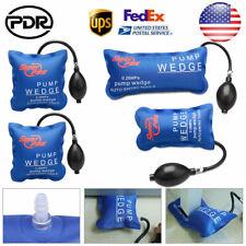 4pcs US Air Pump Wedge PDR Hand Tool Shim Automotive Inflatable Door Window Car