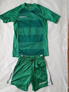 Craft Progress Jersey & Short 158/164 grün
