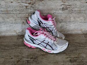 Asics Gel Duo Max Womens Size UK 7 White Pink White Running Shoes