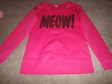 JUICY COUTURE SWEATSHIRT FOR WOMAN: SIZE XS:  HOT PINK: -CREW NECK: MEWO