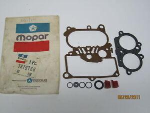 74-75 Chrysler Dodge Plymouth 400 Carburetor Gasket Package NOS 3879766