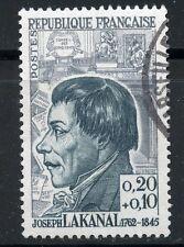 STAMP / TIMBRE FRANCE OBLITERE CELEBRITE  N° 1347 JOSEPH LAKANEL