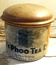 VINTAGE TY-PHOO TEA WOODEN CONTAINER TEAS