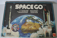 SPACE GO ESA Euro Space Travel BOARD GAME 1984 JUMBO