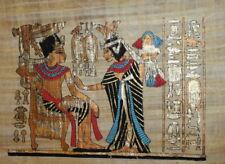 Egyptian Folk Painting Art on Papyrus
